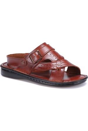 Flexall 45 M 1625 Taba Erkek Klasik Sandalet