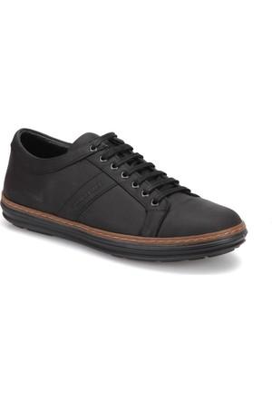 Lumberjack Zegnum Crz Siyah Erkek Deri Ayakkabı