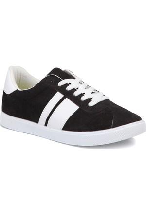 Art Bella Cw17051 Siyah Kadın Sneaker Ayakkabı