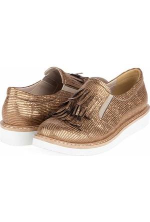 Yarım Elma Kadın Loafer Ayakkabı