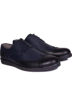 Kalahari 737112 041 072 Erkek Lacivert - Siyah Günlük Ayakkabı
