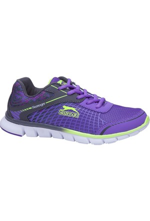 Slazenger Wayra-Purple Spor Ayakkabı SA25RK007-649