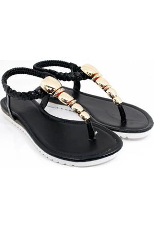 Guja Kadın Metalli Parmak Arası Terlik Sandalet 17Y430 2 01