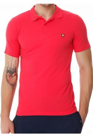 Slazenger Nartu Erkek Polo Yaka Fuşya T-Shirt