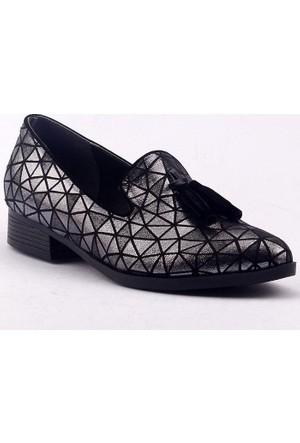 Caprito 8406 Günlük Ortopedik Fiyonklu Bayan Ayakkabı