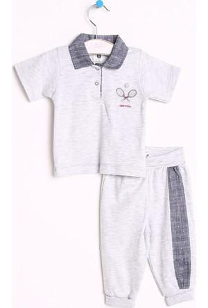 Carmin Baby Sports Polo Yaka Tshirt Tek Alt