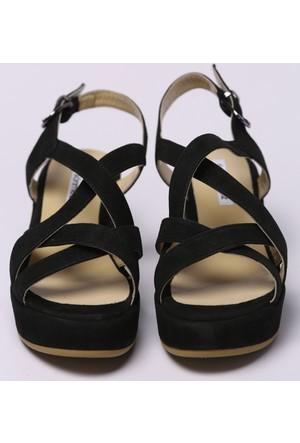 Faik Sönmez Siyah Sandalet 34756