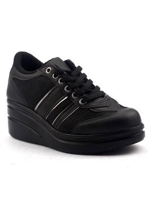 All Force ZN 2 Yüksek Topuk Yürüyüş Koşu Bayan Spor Ayakkabı