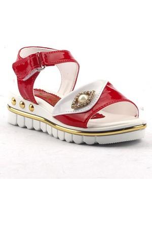 Jasmine 390 Günlük Cırtlı Abiye Kız Çocuk Yazlık Sandalet Ayakkabı