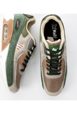 DeepSEA Yeşil Renkli Air Max Yüksek Taban Bağcıklı Erkek Spor Ayakkabı 1703003-009