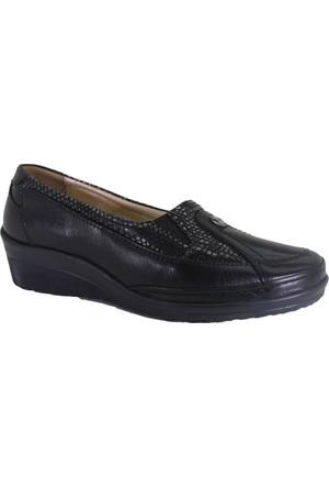 Forelli 26222 Günlük Kadın Ortopedik Deri Ayakkabı