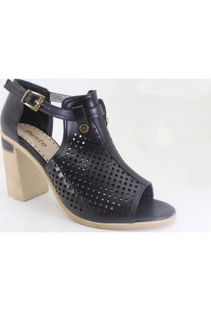 Punto 633177-01 Günlük Kadın Topuklu Ayakkabı