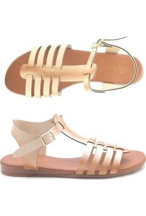 Tofima 1010 Alçak Günlük Kadın Sandalet