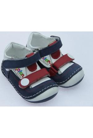 Teo Erkek Çocuk İlkadım Deri Ayakkabı