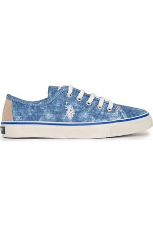 U.S. Polo Assn. Kadın Helen-Int Sneaker Ayakkabı Lacivert
