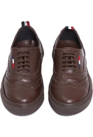 U.S. Polo Assn. Erkek Çocuk K6Forte Ayakkabı Kahverengi