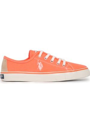 U.S. Polo Assn. Kadın Kaley-Int Sneaker Ayakkabı Pembe