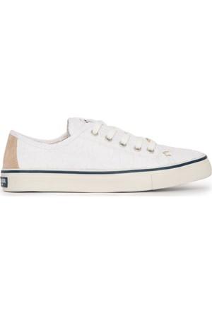 U.S. Polo Assn. Kadın Lucas-Int Sneaker Ayakkabı Beyaz