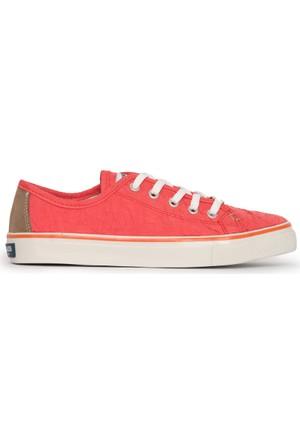 U.S. Polo Assn. Kadın Lucas-Int Sneaker Ayakkabı Kırmızı