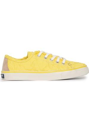 U.S. Polo Assn. Kadın Lucas-Int Sneaker Ayakkabı Sarı