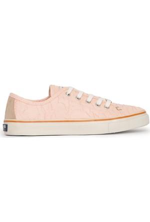 U.S. Polo Assn. Kadın Lucas-Int Sneaker Ayakkabı Somon
