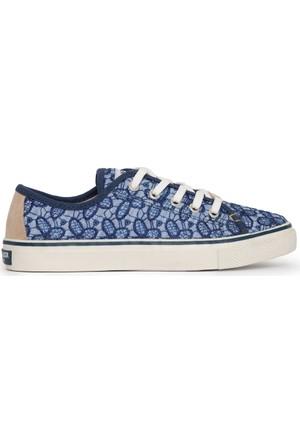 U.S. Polo Assn. Kadın Sage-Int Sneaker Ayakkabı Mavi