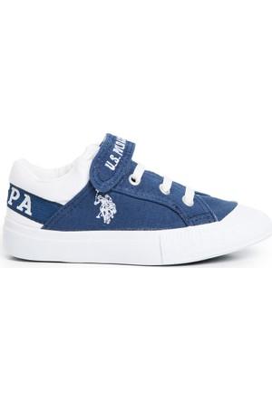 U.S. Polo Assn. Erkek Çocuk Y7Arnel Ayakkabı Mavi