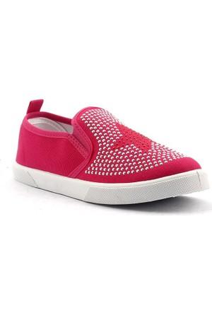 Gezer 2524 Günlük Keten Kız Çocuk Ayakkabı