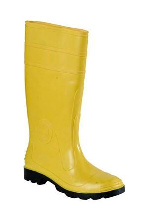 Gezer Lastik Çizme Sarı