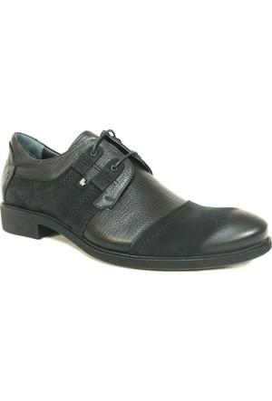 Fastway 1800 Siyah Bağcıklı Klasik Erkek Ayakkabı