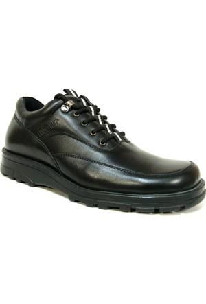 Fastway 250 Siyah Bağcıklı Comfort Erkek Ayakkabı
