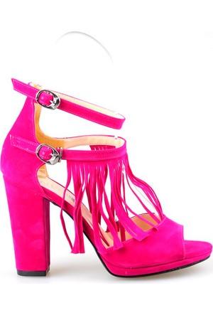 Etki 14218 Kadın Topuklu Sandalet