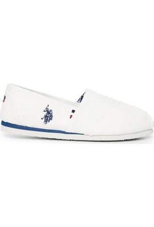 U.S. Polo Assn. Erkek Y7Huff Ayakkabı Beyaz