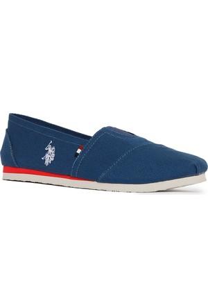 U.S. Polo Assn. Erkek Y7Huff Ayakkabı Mavi