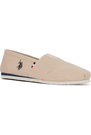 U.S. Polo Assn. Erkek Y7Huff Ayakkabı Bej