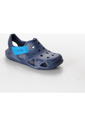 Crocs Swiftwater Wave Navy Çocuk Sandalet