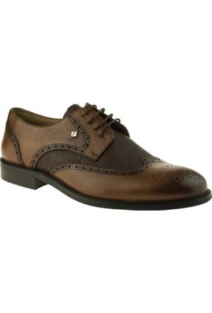 Fosco 7623 Neolit Bağlı Taba Erkek Ayakkabı