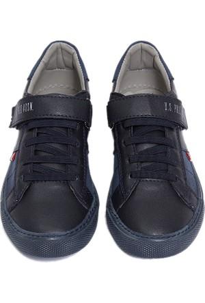 U.S. Polo Assn. Erkek Çocuk K6Uspy145 Ayakkabı Siyah