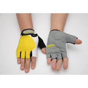 sedona kısa parmak eldiven anatomik pk 513-022 sarı m - m