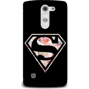 exclusive lg magna çiçekli superman design kapak