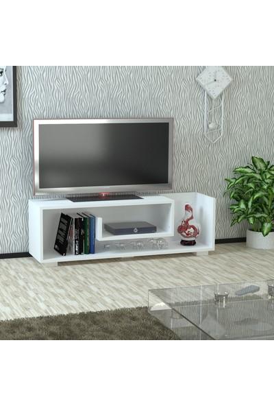 Kalender Dekor Junıor Tv Sehpası Beyaz