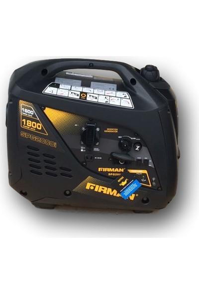Firman Motor SPG 2000I Benzinli Jeneratör Sessiz Çanta Tipi İnvertör Jeneratör