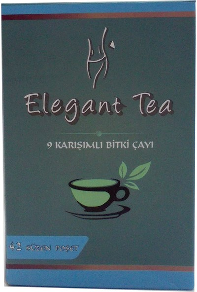 Elegant Tea 9'lu Form Bitkisel Çay 42 Pşt