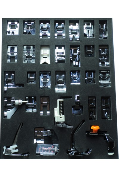 Sakashi 32 Parça Ev Tipi Dikiş Makinesi Ayak Seti