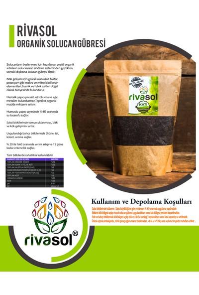 Rivasol® Organik Solucan Gübresi 1 Kg / Doğa Dostu Craft Paket
