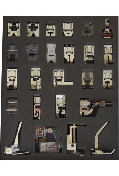 Sakashi 25 Parça Ev Tipi Dikiş Makinesi Ayak Seti