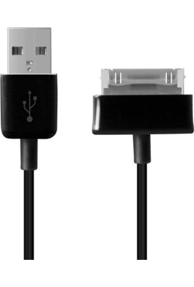 Dual Pazar Samsung Galaxy Tab/Tab 2 Serisi Tabletler İçin 1M Usb Şarj Ve Data Kablosu