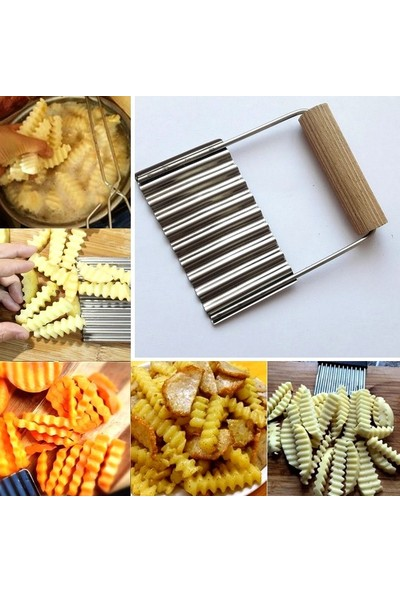 Nar Tırtıklı Patates Cips Yapma Aparatı
