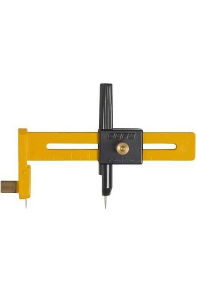 Olfa Cmp-1 Daire Kesici Maket Bıçağı 1-15 Cm Çap