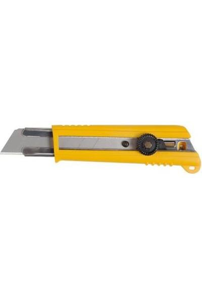 Olfa Nh-1 Ağır Sanayi Tipi Profesyonel Maket Bıçağı 25 Mm